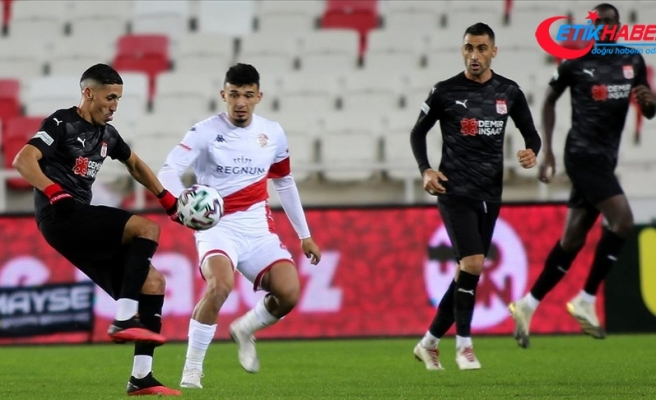 Sivasspor'un Süper Lig'de sahasındaki galibiyet hasreti 6 maça çıktı