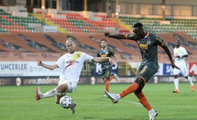 Süper Lig: Aytemiz Alanyaspor: 1 - Yeni Malatyaspor: 1 (Maç sonucu)