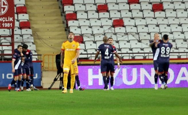 Süper Lig: FT Antalyaspor: 2 - İH Kayserispor: 0 (İlk yarı)