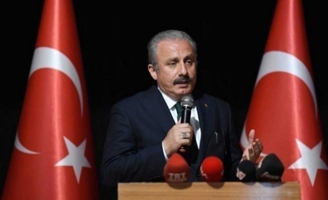 """TBMM Başkanı Şentop: """"İstiklal Marşı milletimizin ortak değeri, anayasamızın temel paradigmasıdır"""""""