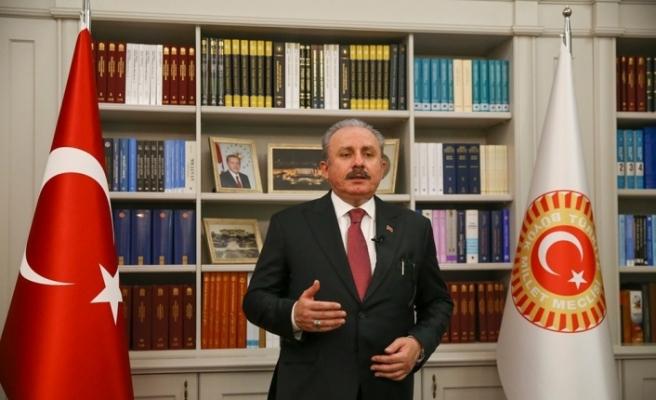 """TBMM Başkanı Şentop: """"Türkçe olmasaydı tarihteki varlığımızdan söz edemeyecektik"""""""