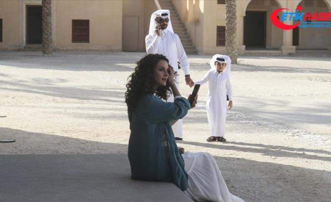 Türk dizisi 'Seni çok bekledim' Katar'da çekiliyor