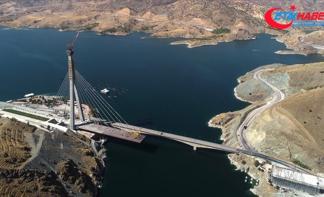 Türkülere konu olan 'Kömürhan Köprüsü' yeni yüzüyle ulaşıma yön verecek