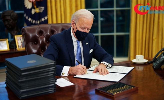 ABD Başkanı Biden'dan görevinin ilk gününde Trump yönetiminin kararlarını tersine çeviren 17 kararname