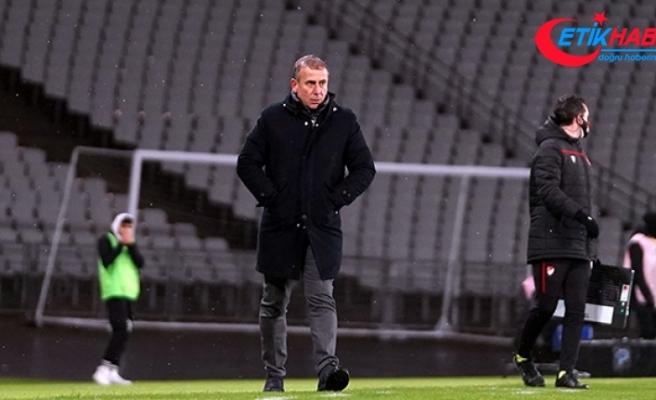 Abdullah Avcı: 'Kupayı Trabzon şehrine, Trabzonspor taraftarına armağan ediyoruz'