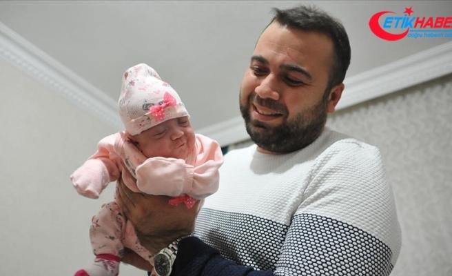 Ailesinin 425 gramlık 'Nefes'i 144 gün sonra evine kavuştu