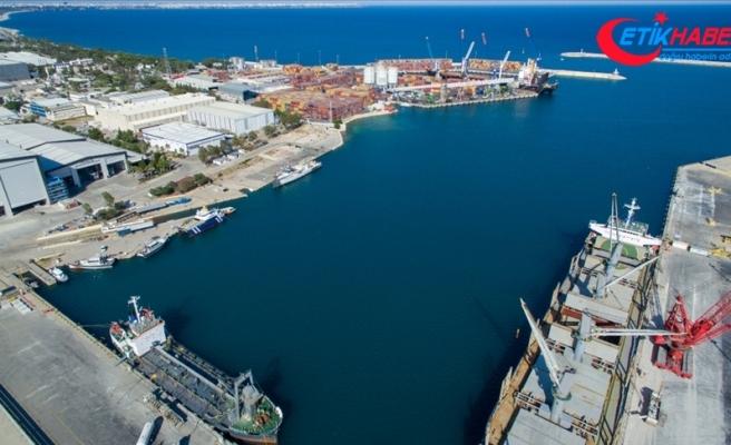 Antalya Serbest Bölge'nin ticaret hacmi 2020'de 840 milyon doları aştı