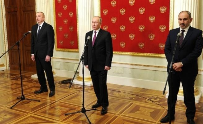 Azerbaycan, Rusya ve Ermenistan liderlerinin zirvesi sona erdi