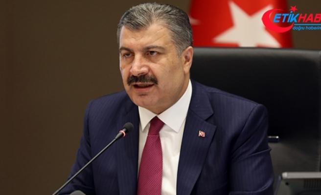 Sağlık Bakanı Koca: Uzun bir aradan sonra günlük hasta sayımız 1000'in altına indi