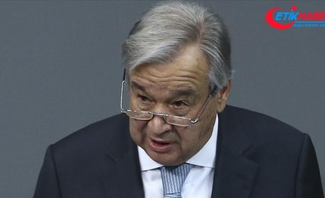 BM Genel Sekreteri Guterres: ABD Kongresine baskının ardından yaşanan olaylardan üzüntü duydum