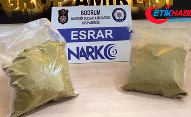 Bodrum'da narkotik ekibinden nefes kesen operasyon