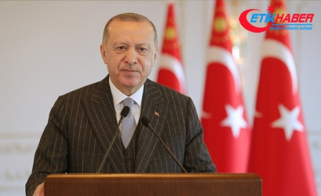 Cumhurbaşkanı Erdoğan: Kömürhan Köprüsü, kendi grubunda dünyanın 4. büyük projesi