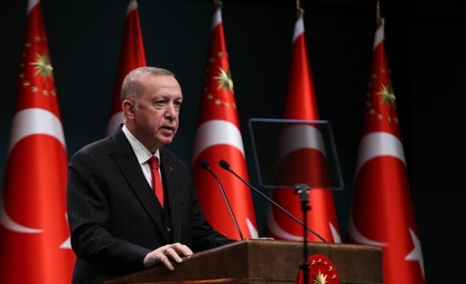 Cumhurbaşkanı Erdoğan başkanlığında yapılan Cumhurbaşkanlığı Kabinesi Toplantısı sona erdi