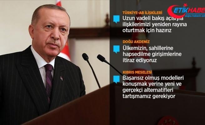 Cumhurbaşkanı Erdoğan: Brexit ile artan belirsizlik Türkiye'nin Avrupa ailesinde hak ettiği yeri almasıyla giderilebilir