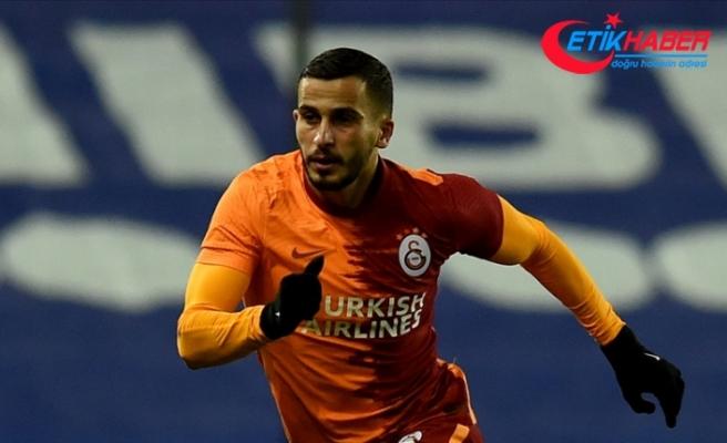 Elinde havai fişek patlayan Galatasaraylı futbolcu Elabdellaoui hastaneye kaldırıldı