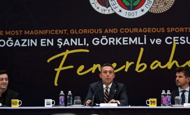 """Fenerbahçe Başkanı Ali Koç: """"Mesut Özil, Fenerbahçe'sine kavuştu"""""""