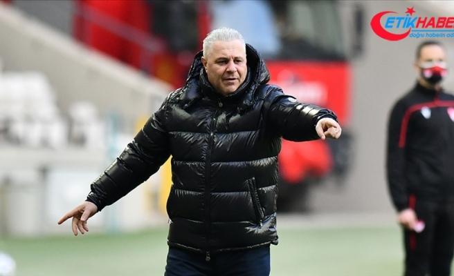 Çaykur Rizespor'da teknik direktör Marius Sumudica, maç sonrası fenalaştı