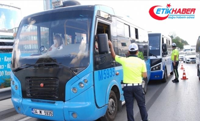 İstanbul'da hatlı minibüsler en çok trafik kural ihlalinden ceza aldı