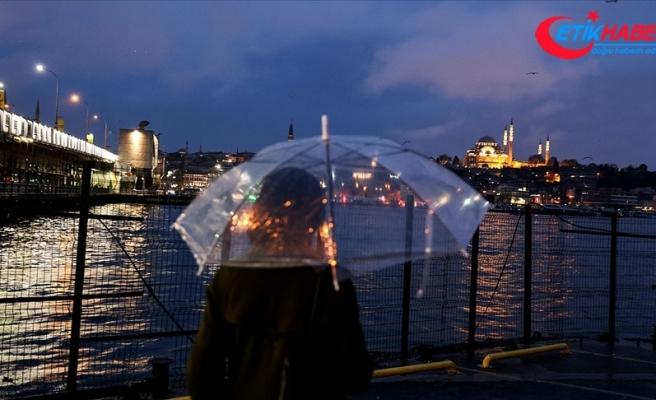 İstanbul için kuvvetli yağış ve kar uyarısı