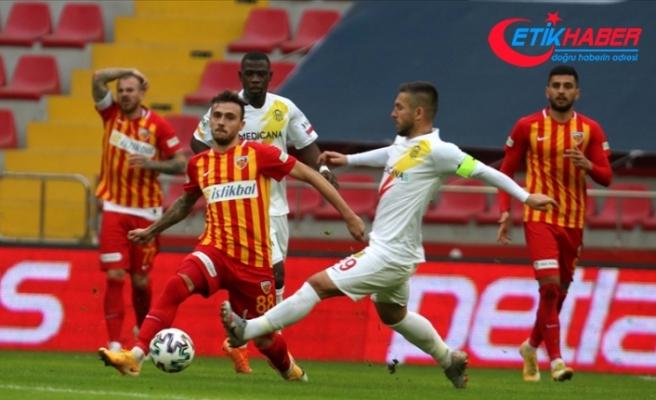 Kayserispor sahasında Yeni Malatyaspor'u tek golle geçti