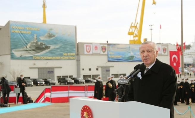"""""""Kendi savaş gemisini yapan 10 ülke içindeyiz"""""""