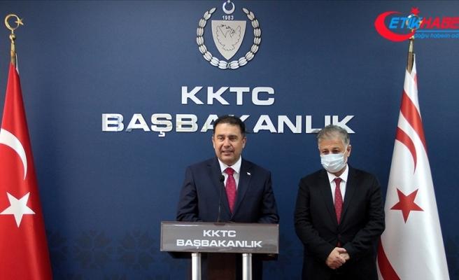 KKTC Başbakanı Saner: Nüfusun yüzde 80'inin aşılanmasını hedefliyoruz