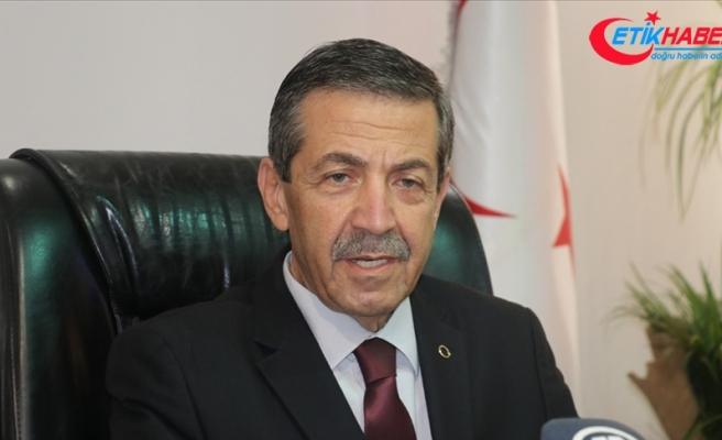 KKTC Dışişleri Bakanı Ertuğruloğlu: Toplumlar arası görüşmeler süreci bitmiştir