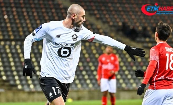 Lille, Burak Yılmaz'ın attığı golle yendi