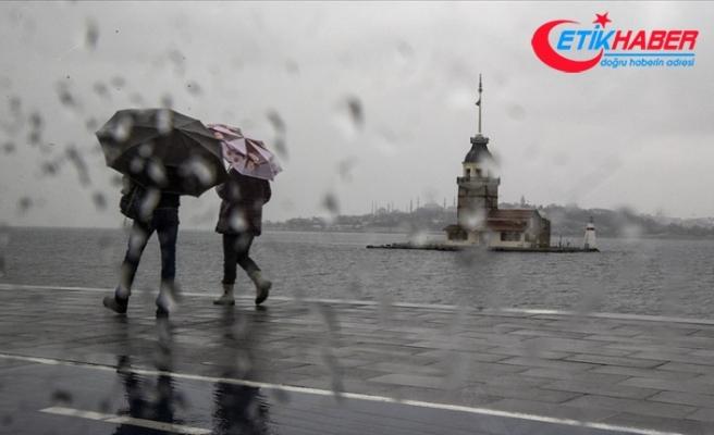 Marmara Bölgesi'nde sıcaklıkların 8-10 derece azalması bekleniyor