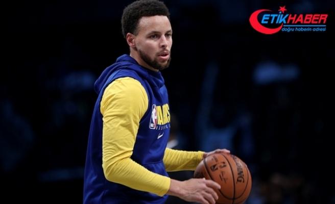 NBA'de Stephen Curry 62 sayıyla kariyer rekoru kırdı, Warriors kazandı