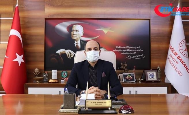 Samsun İl Sağlık Müdürü Oruç'tan 'aşı rehavete neden olmasın' uyarısı