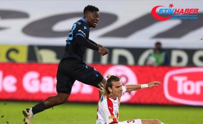 Trabzonspor'da Caleb Ekuban, önceki sezonlardaki gol sayısını yakaladı