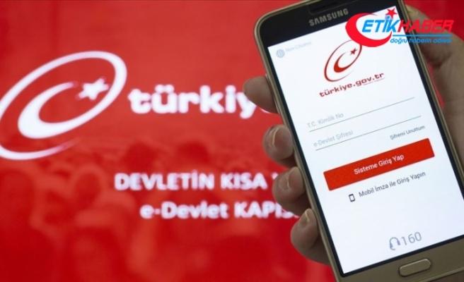 'Türkiye'nin dijital yüzü e-Devlet Kapısı'na geçen yıl 2,3 milyarı aşkın giriş oldu