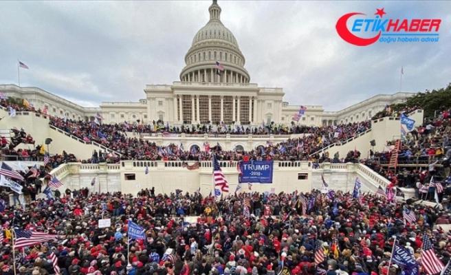 Washington'daki olaylar nedeniyle Kongredeki seçim oturumlarına ara verildi