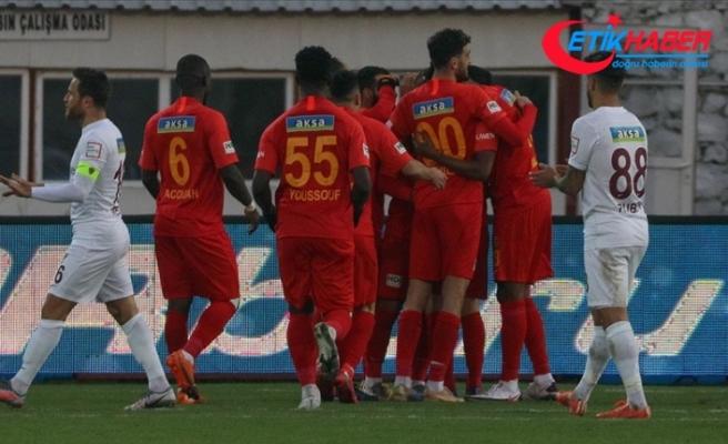 Yeni Malatyaspor deplasmanda kazandı