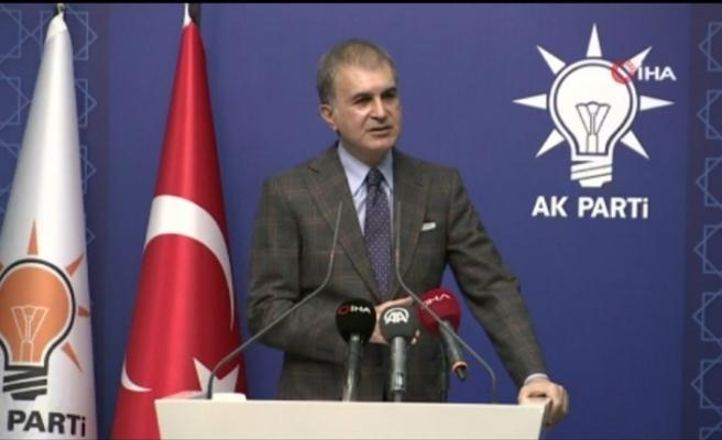 AK Parti Sözcüsü Çelik'ten CHP Genel Başkanı Kılıçdaroğlu'nun açıklamalarına tepki