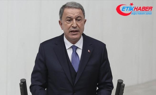 Bakan Akar: Pençe Kartal-2 operasyonları artan bir şiddet ve tempoda aralıksız devam ediyor