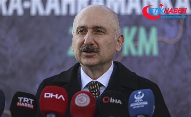 Bakan Karaismailoğlu: (Ankara-Kahramankazan yolu projesi) 2021 içinde 17 kilometreye ulaşacağız