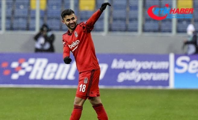 Beşiktaşlı futbolcu Ghezzal'ın adalesinde gerilme ve kanama tespit edildi