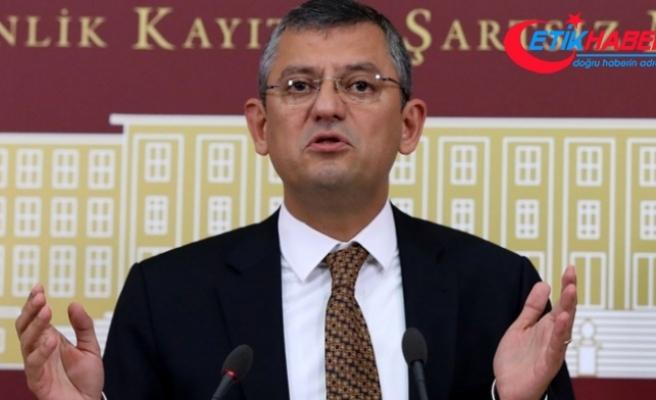 CHP'li Özel, AK Parti'li Özkan'ın yeni anayasa çalışmalarına yönelik açıklamalarını eleştirdi: