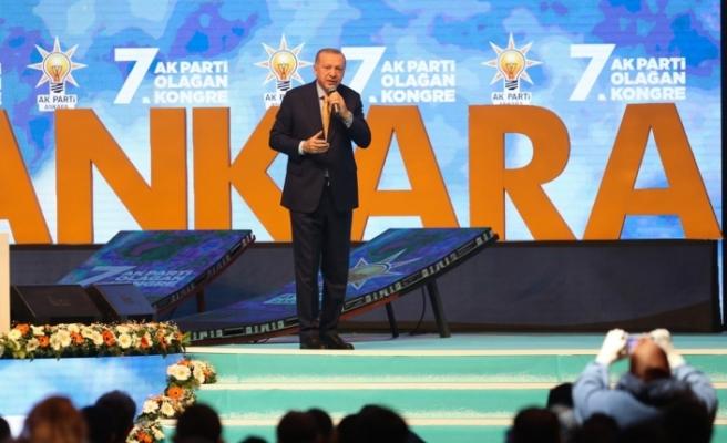 """Cumhurbaşkanı Erdoğan: """"Açıp biraz tarih okusa orada CHP'nin takoz siyasetini görecektir"""""""