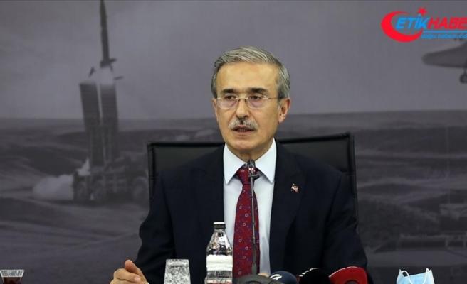 Cumhurbaşkanlığı Savunma Sanayii Başkanı Demir: Platformlar için Makineli Tüfek PMT 7,62'nin geliştirmesi sürüyor
