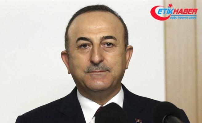 Dışişleri Bakanı Çavuşoğlu Kerç Boğazı'nda mürettebatı zehirlenen Türk gemisinin kaptanıyla görüştü