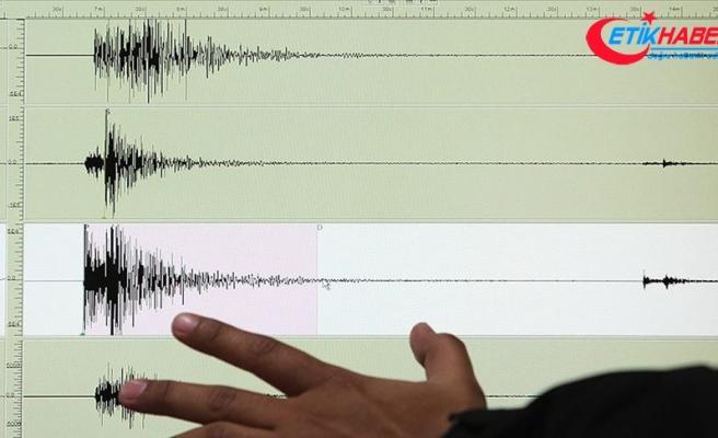 Tunceli'de 4,1 büyüklüğünde deprem