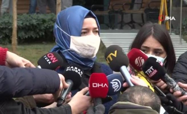 """Fatma Betül Sayan Kaya: """"Bütün İstanbul'un, Türkiye'nin başı sağ olsun"""""""