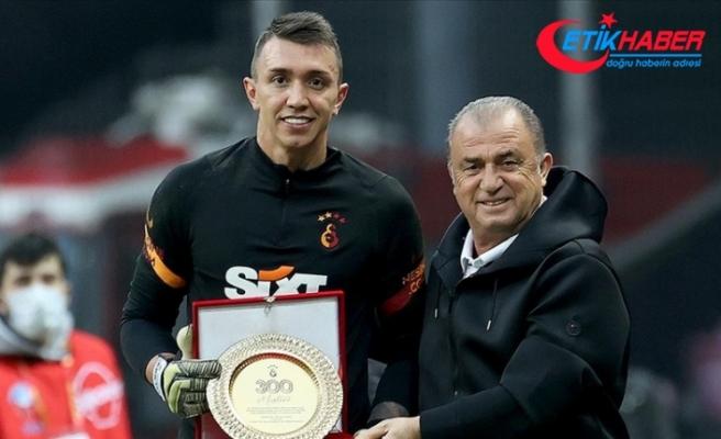 Galatasaray kalecisi Muslera 300. Süper Lig maçına çıktı