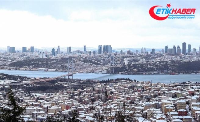 İstanbul'da kar yağışı sürüyor