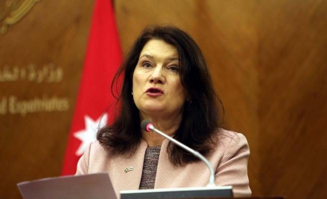 İsveç Dışişleri Bakanı Linde'den Türkiye'ye taziye mesajı