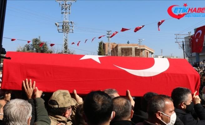 Gara'da şehit edilen Uzman Jandarma Çavuş Ümit Gıcır, Balıkesir'de son yolculuğuna uğurlandı