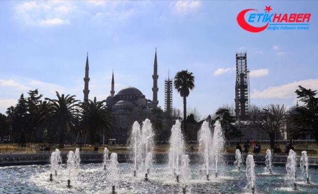 Marmara Bölgesi'nde sıcaklıkların 1 ila 3 derece artması bekleniyor